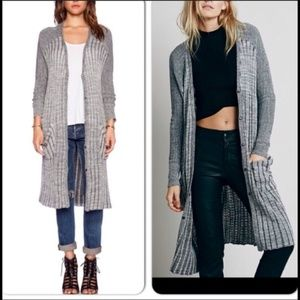 Freepeople Amazing long duster !!!